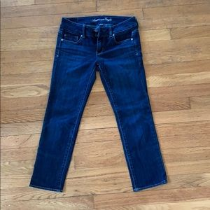 American Eagle jeans, Artist style cropped, Sz 2!